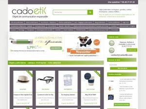 cadoetik, boutique en ligne de cadeaux éco-reponsable pour entreprises