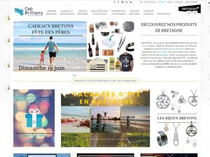 Cap Brittany, boutique en ligne de produits bretons