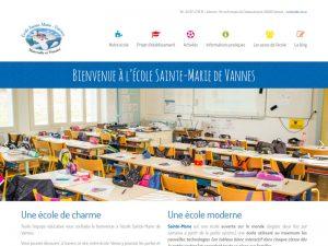 Vannes, école sainte-marie maternelle