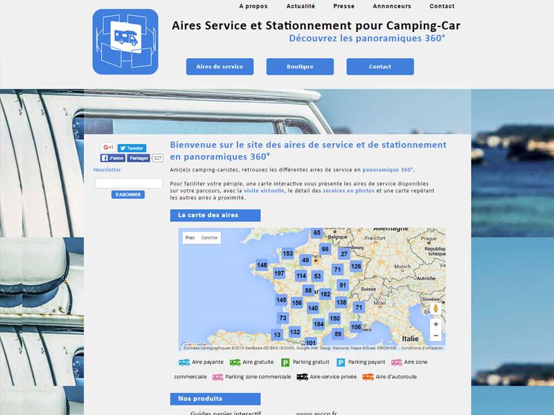 Retrouvez toutes les aires de camping car de Bretagne et Loire Atlantique