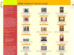 Celtica glass, atelier s'artisanat de verre fusing en morbihan
