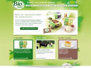 Bio nat ce sont des produits laitiers, bio, simples et bons