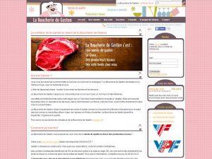 Colis de viande, boucherie en ligne, chez gaston