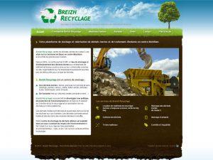 Breizh recyclage, traitement et stockage de déchets morbihan