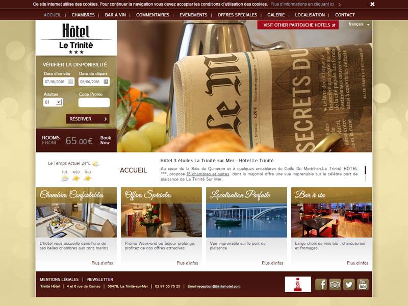 Hotel 3 étoiles, Le Trinité, casino