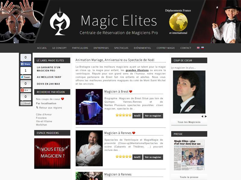 centrale de reservation de magiciens en bretagne