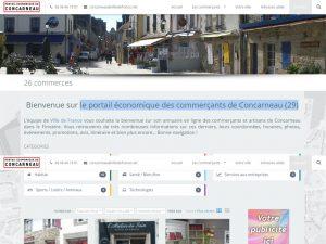 Portail économique des commerçants de concarneau (29)