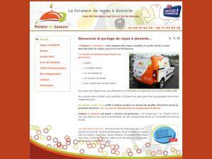 Livraison de repas à domicile - Rennes - porteur de saveurs