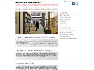 Agence de presse et de communication en histoire d'entreprise