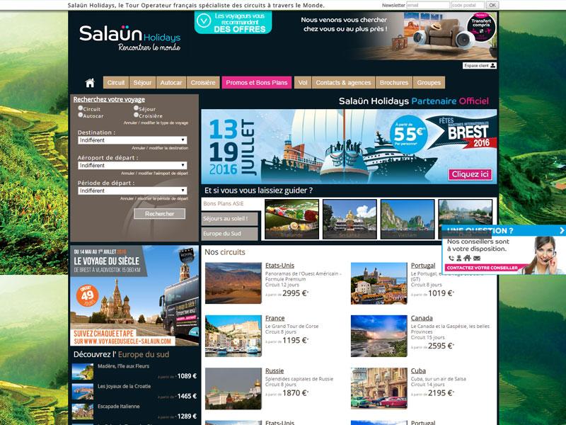 Salaün Holidays - tour opérateur agence de voyage