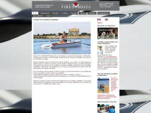 Constructeur de bateaux - Morbihan - virusboats
